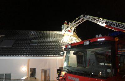 06.08.2019 Dachstockbrand aufgrund von Blitzeinschlag
