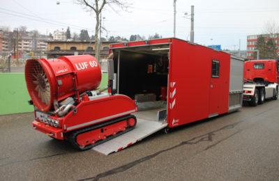 Wechselladecontainer LUF Löschunterstützungsfahrzeug