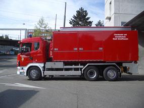 Wechselladecontainer Chemiewehr