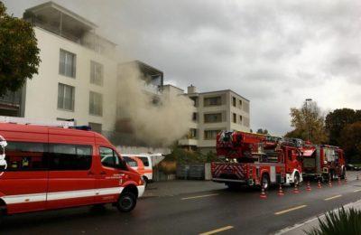 10.10.2020 Wohnzimmerbrand in Mehrfamilienhaus – Grubenquartier