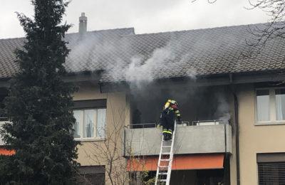 88. Balkonbrand, Stauffacherstrasse 6