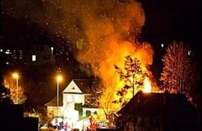 Brand zerstört Kindergarten Geissberg