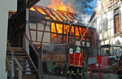 Grossbrand in Buchthalen