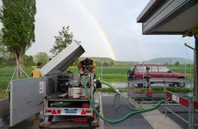 05.05.2015 Siblingen: Einsatz Ölwehr