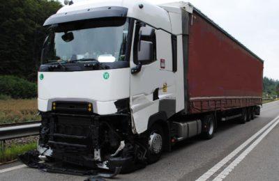 291. Verkehrsumleitung nach Unfall, A4