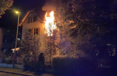 313. Gebäudebrand, Munotstrasse